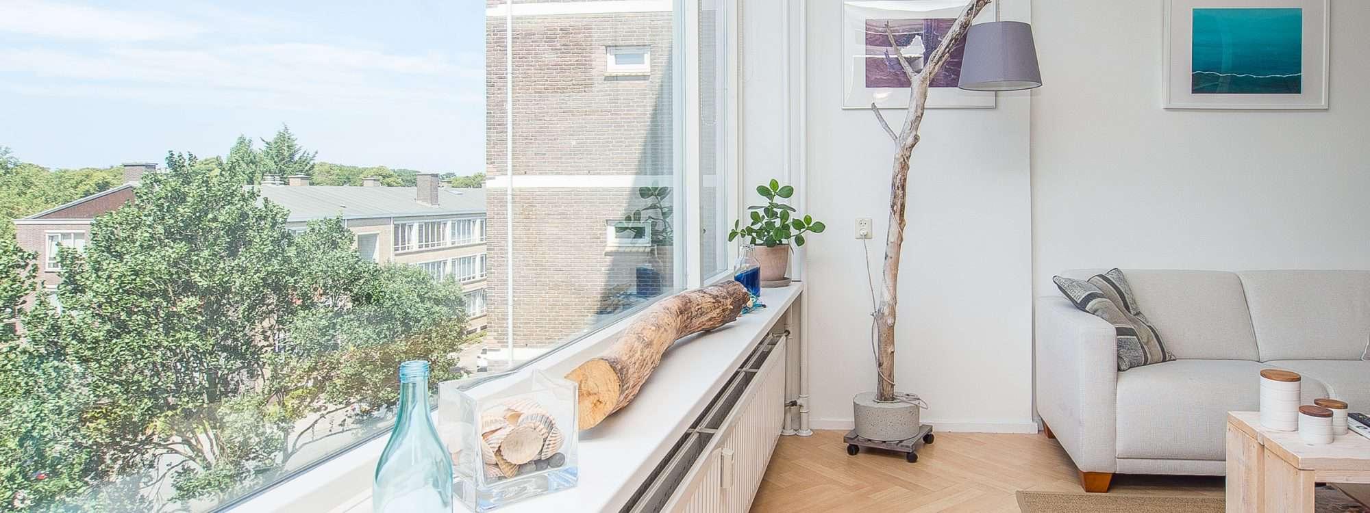 Tweekamer appartement in Benoordenhout
