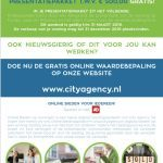 Nieuwe City Agency flyer met aanbieding